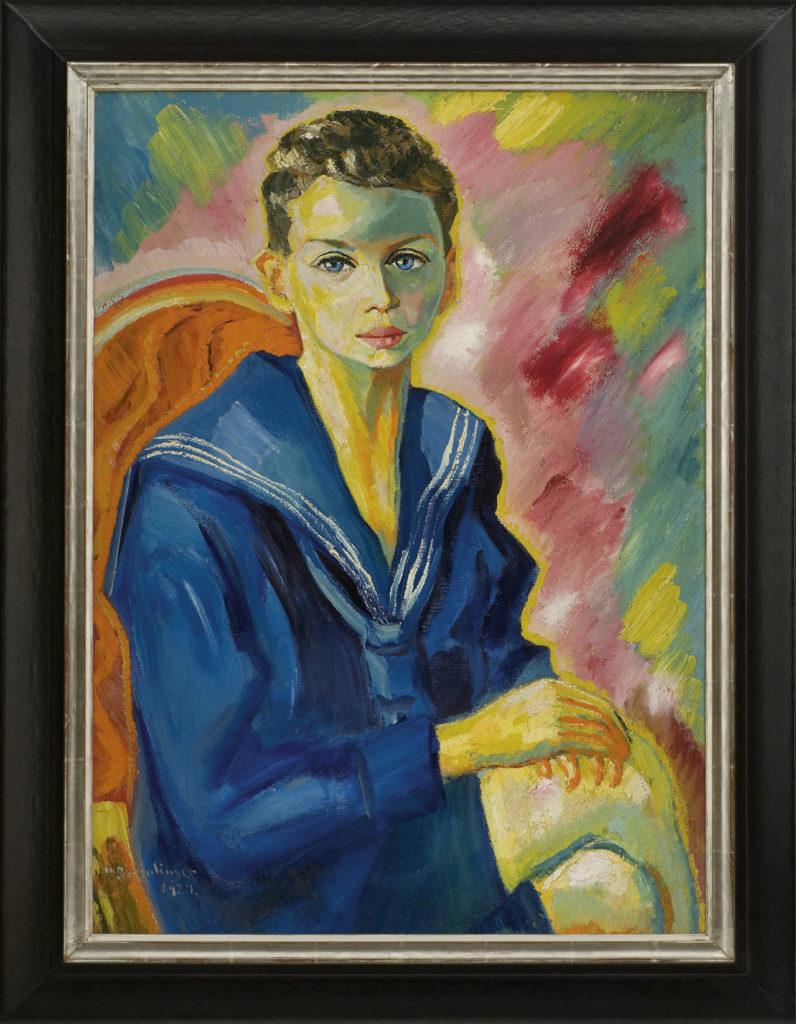 Ernst Wiehler, 1924, 79 x 57 cm