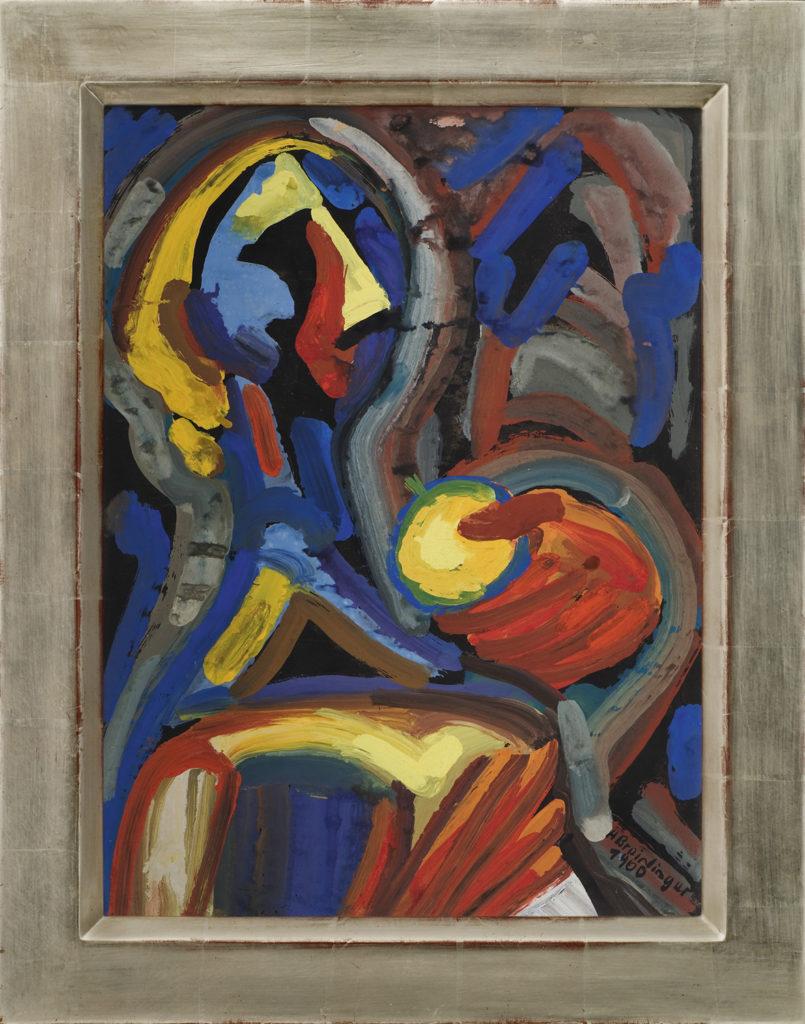 Eva mit Apfel, 1960, 55 x 41 cm
