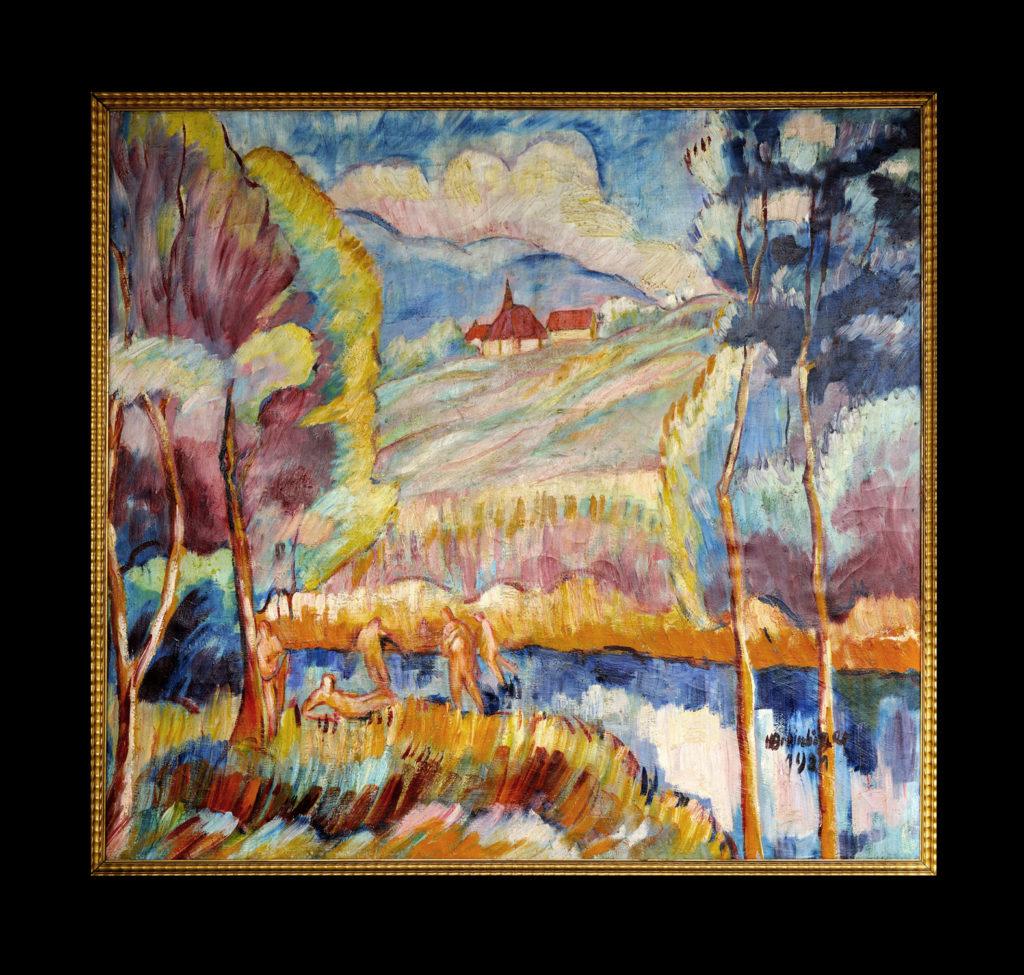 Lebensfreude, 1921, 117 x 129 cm