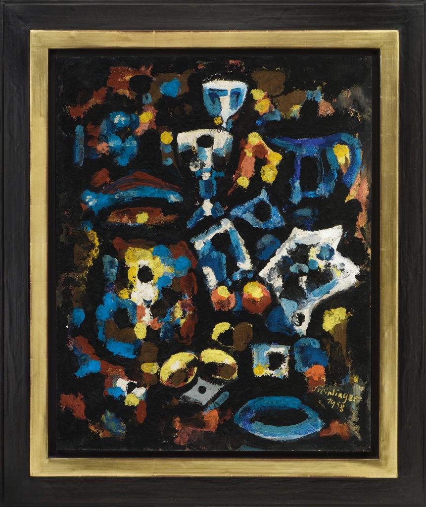 Stillleben, 1958, 84 x 76 cm