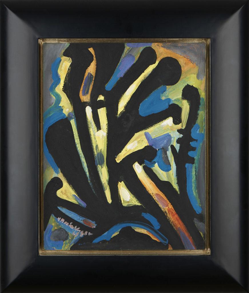 Komposition, 1962, 40 x 30 cm
